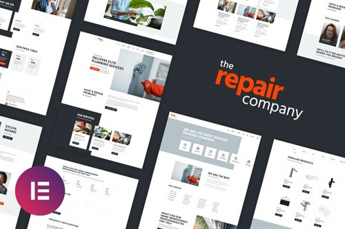 ThemeForest - Renovirta v1.0 - Plumbing & Repair Elementor Template Kit - 28209169