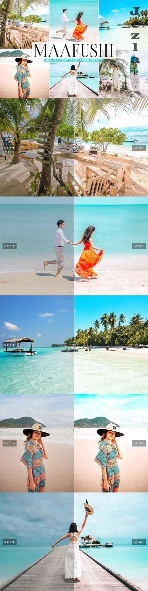 Maafushi Pro Lightroom Presets - 5448226 - Mobile & Desktop