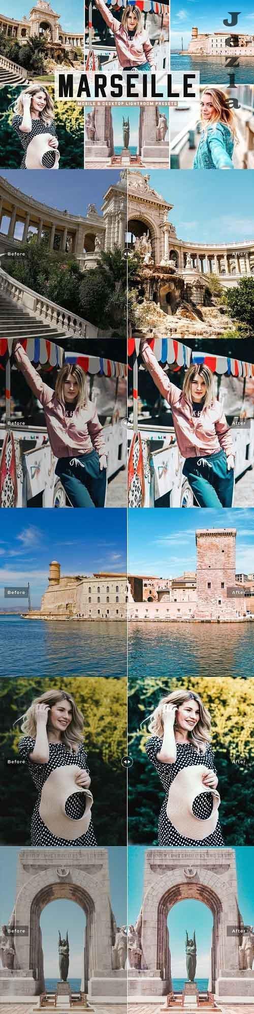 Marseille Pro Lightroom Presets - 5448339 - Mobile & Desktop