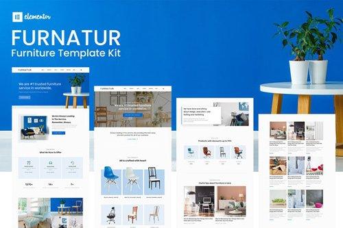 ThemeForest - Furnatur v1.0 - Furniture eCommerce Template Kit - 28003736