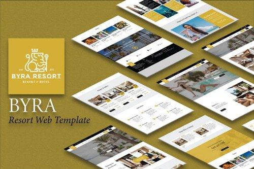 ThemeForest - Byra v1.0 - Hotel & Resort Template Kit - 28181058