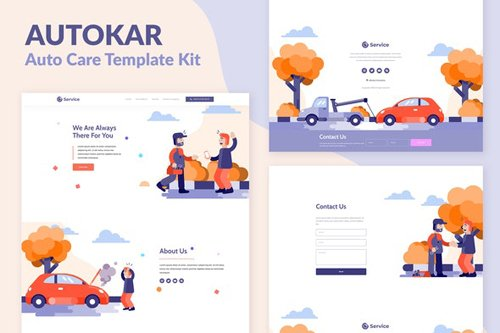 ThemeForest - Autokar v1.0 - Auto Care Elementor Template Kit - 28254933