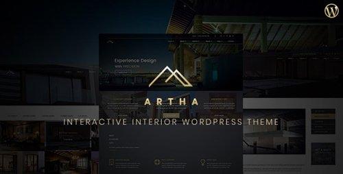 ThemeForest - Artha v1.1 / Artha 2 v1.0 - Interactive Interior WordPress Theme (Update: 23 August 19) - 21477696