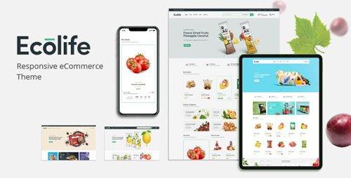 ThemeForest - Ecolife v1.0 - Organic WooCommerce WordPress Theme - 28722349
