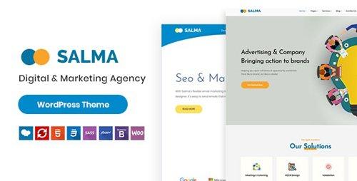ThemeForest - Salma v1.0.0 - SEO Marketing WordPress Theme - 23496497
