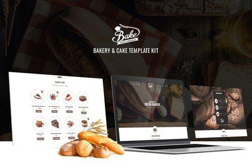 ThemeForest - Bake v1.0 - Bakery & Cake Elementor Template Kit - 28697513