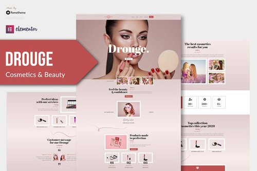 ThemeForest - Drouge v1.0 - Cosmetic Elementor Template Kit - 28726379