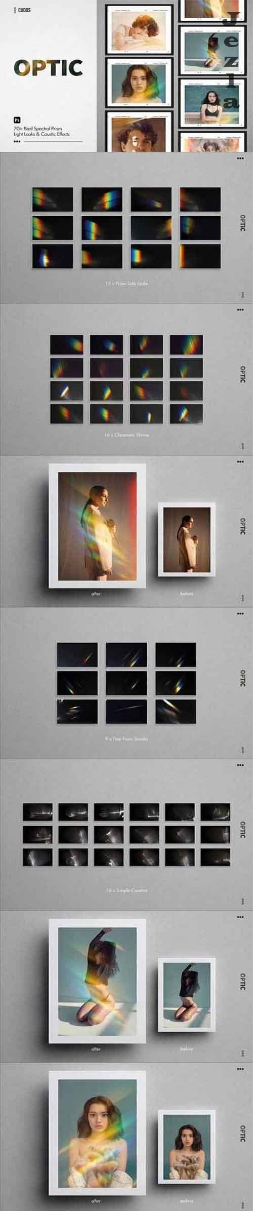 OPTIC Prism & Rainbow Light Leaks 4828098
