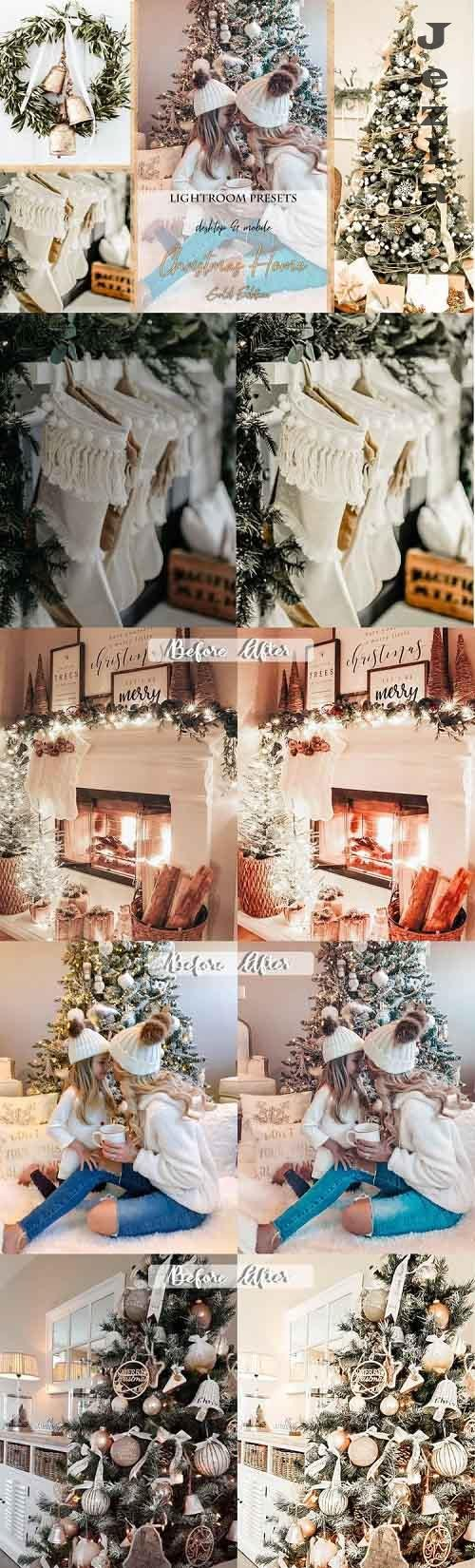Christmas Home Gold Edition Lightroom Presets - 931319