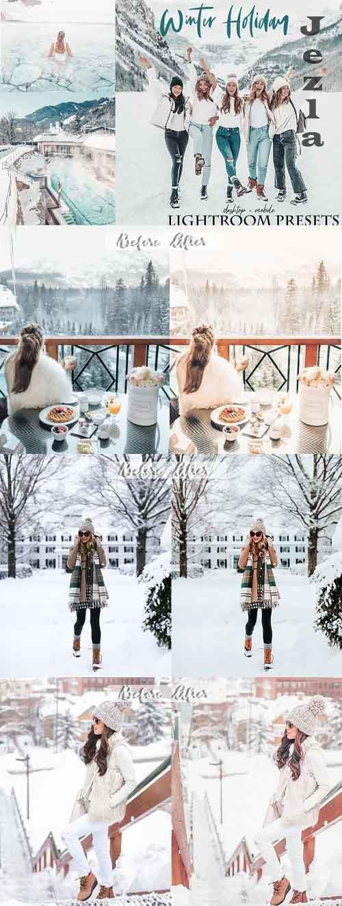 Winter holiday Lightroom Presets - 931431