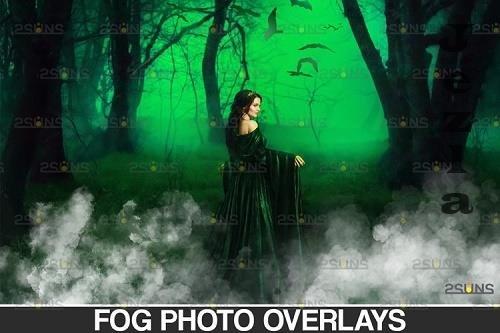 White smoke bomb overlay & Fog overlay, Photoshop overlay - 934518