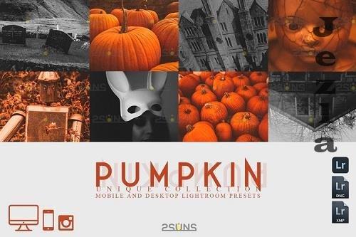 5 Halloween presets & Horror Lightroom presets - 934513