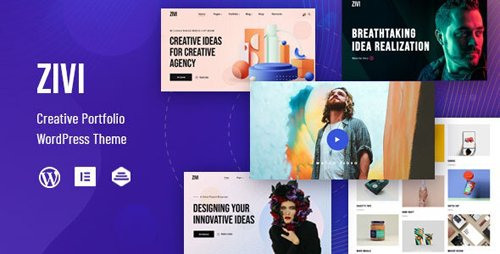 ThemeForest - Zivi v1.0.1 - Contemporary Creative Agency Theme - 28159292