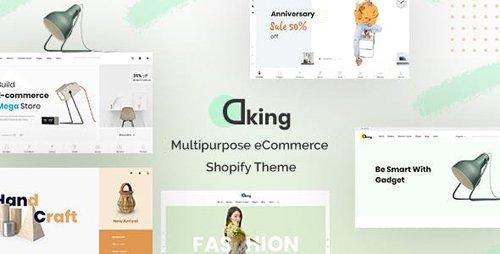 ThemeForest - Dking v1.0.0 - Multipurpose eCommerce Shopify Theme - 28713243