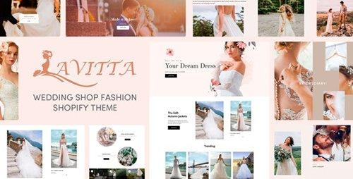 ThemeForest - Lavitta v1.0.0 - Wedding Shop Fashion Responsive Shopify Theme - 27853920