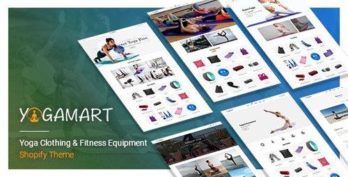 ThemeForest - YogaMart v1.0.0 - Yoga Clothing & Fitness Equipment Shopify Theme - 28018861