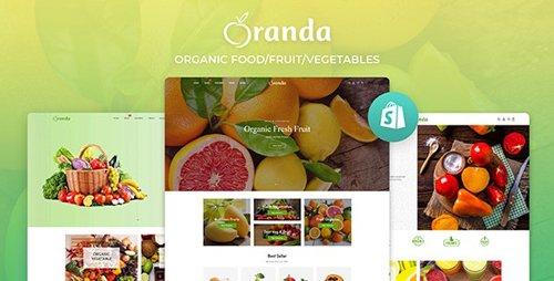 ThemeForest - Oranda v1.0.0 - Organic Food/Fruit/Vegetables eCommerce Shopify Theme - 28192889