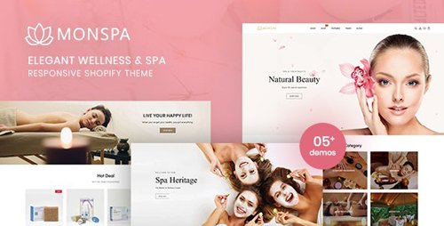 ThemeForest - Monspa v1.0.0 - Elegant Wellness And Spa Responsive Shopify Theme - 28505025
