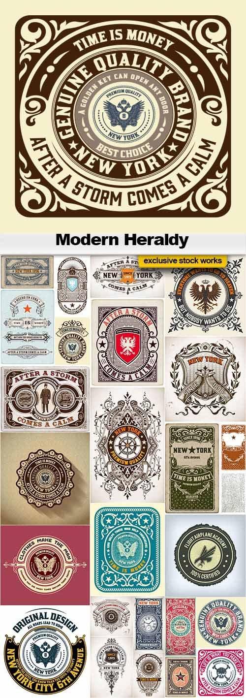 Modern Heraldy