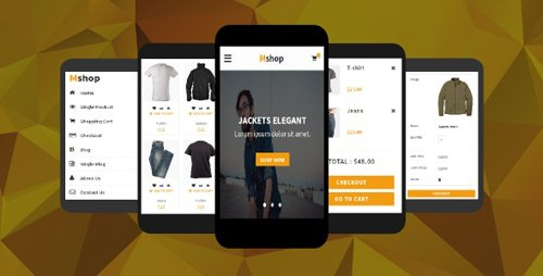 ThemeForest - Mshop v1.0 - eCommerce Mobile Template - 17975544