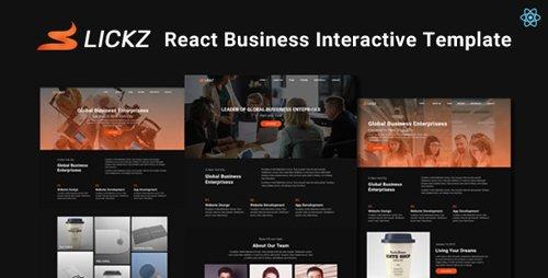 ThemeForest - Slickz v1.0 - React Business Interactive Template - 28286852
