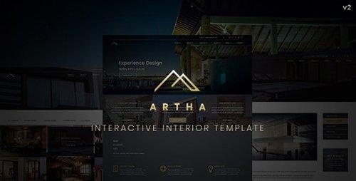 ThemeForest - Artha v2.1 - Interactive Interior Template - 21179771