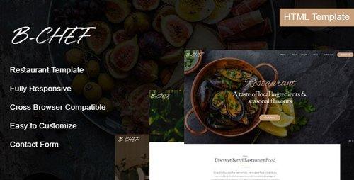 ThemeForest - B-Chef v1.0 - Restaurant HTML Template - 28195613