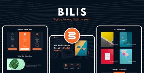 ThemeForest - Bilis v1.0 - Agency Landing Page Template - 28676544