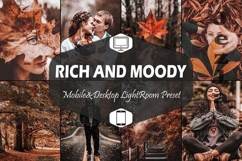 10 Rich And Moody Mobile & Desktop Lightroom Presets, Fall - 939771