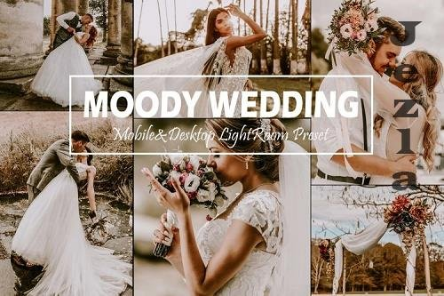 10 Moody Wedding Mobile & Desktop Lightroom Presets, Fall LR - 940719