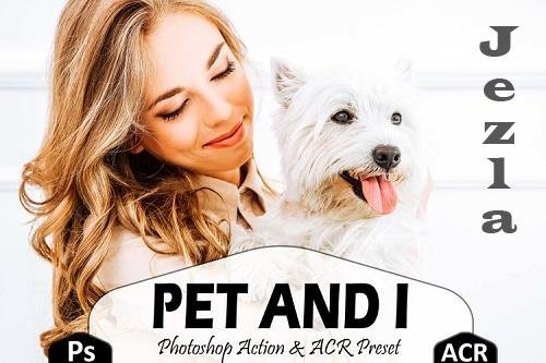 10 Pet And I Photoshop Actions And ACR Presets, Animal Ps - 733554