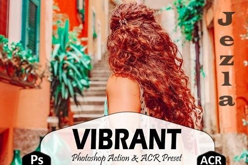 10 Vibrant Photoshop Actions And ACR Presets, Color Pop Ps - 758330