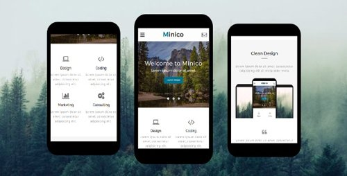 ThemeForest - Minico v1.0 - Responsive Multipurpose Mobile Template - 19606471