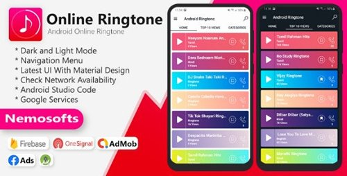 CodeCanyon - Android Online Ringtone (Update: 12 April 20) - 25664467