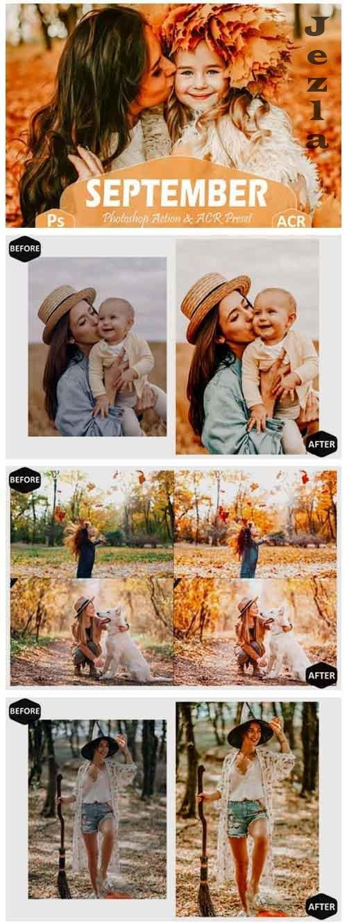 10 September Photoshop Actions And ACR Presets, fall filter - 859130