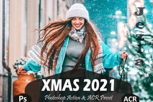 10 Xmas 2021 Photoshop Actions And ACR Presets