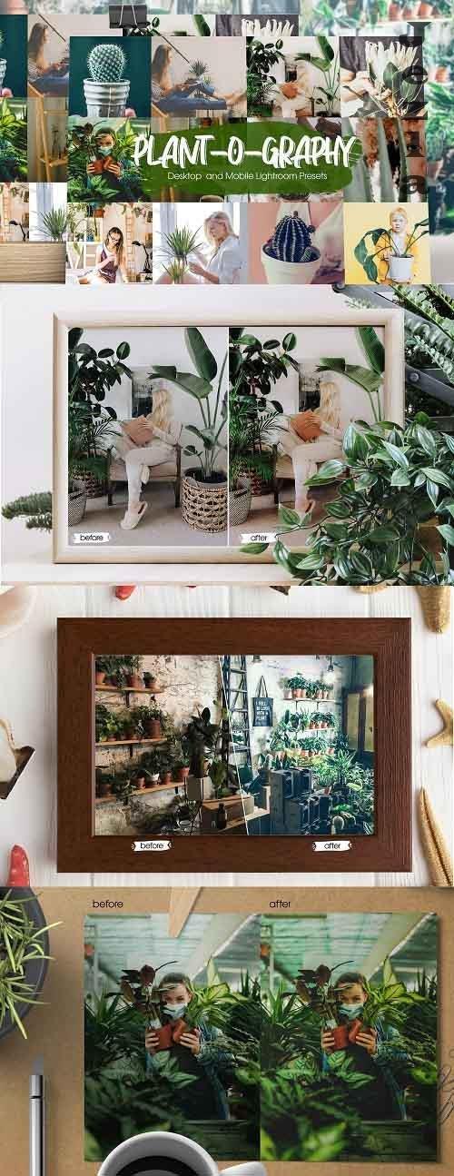 Plant-o-graphy Lightroom Presets - 5301680