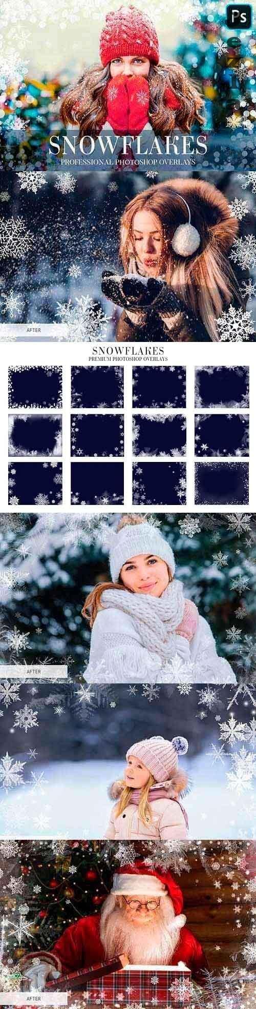 Winter Overlays Photoshop - 4949169