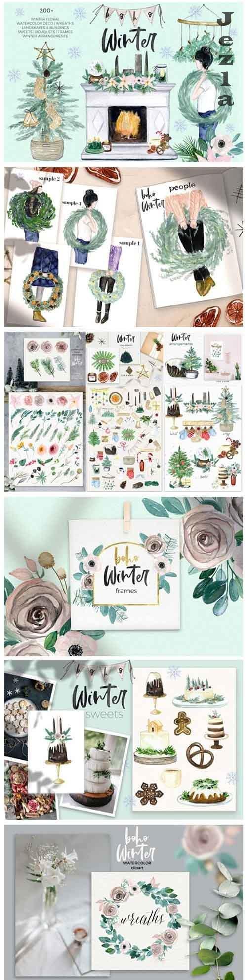Boho Winter & Christmas - 5468092