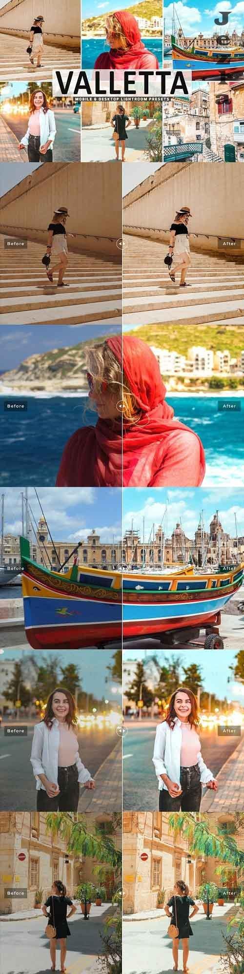 Valletta Pro Lightroom Presets 5478102 - Mobile & Desktop