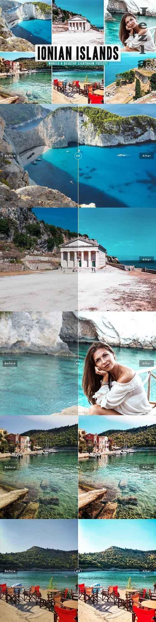 Ionian Islands Pro Lightroom Presets - 5478158 - Mobile & Desktop