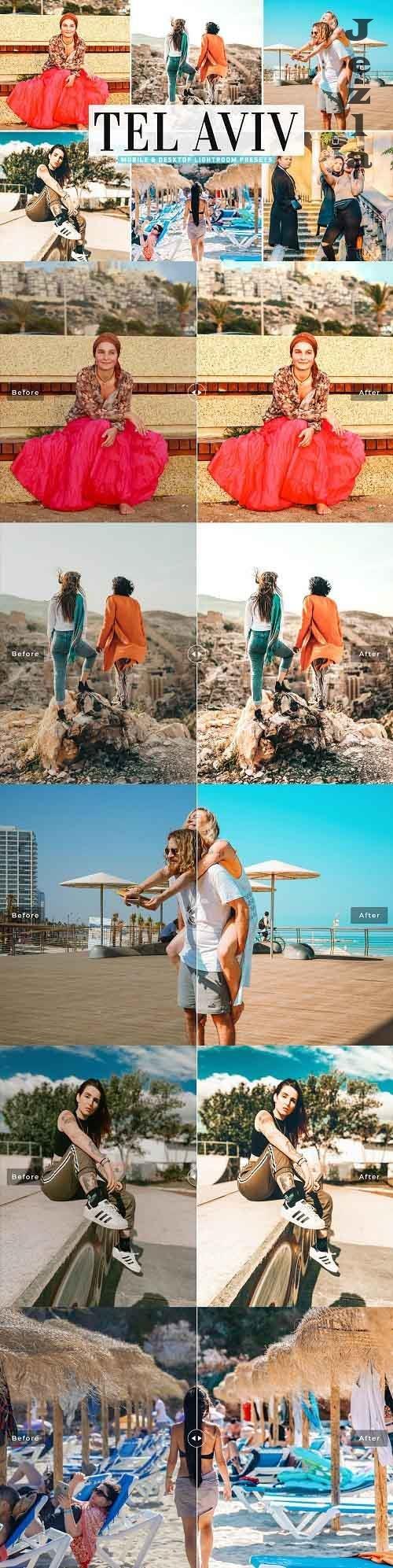 Tel Aviv Pro Lightroom Presets - 5478012 - Mobile & Desktop