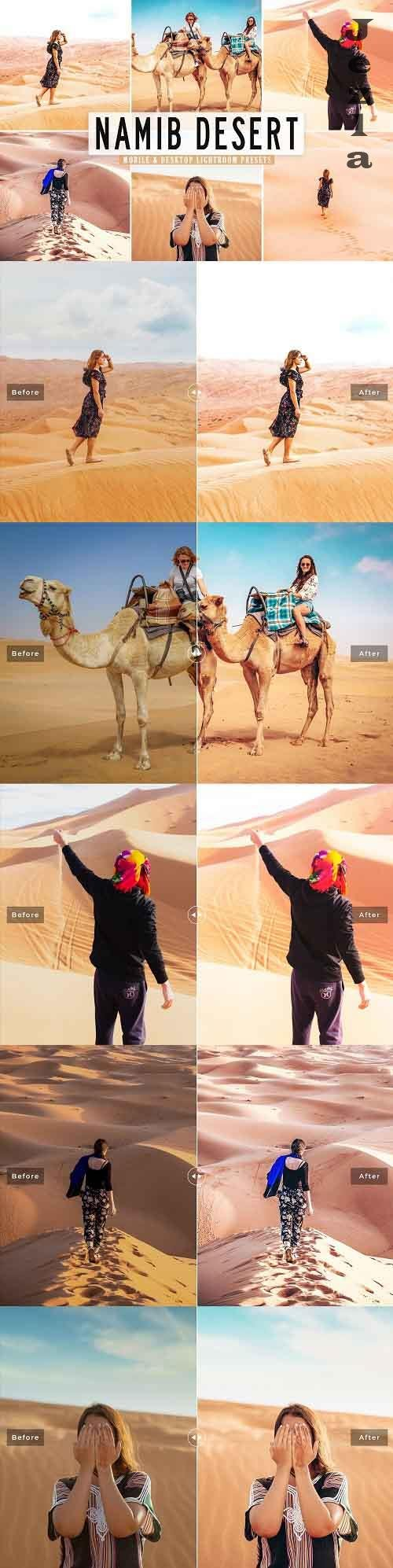 Namib Desert Pro Lightroom Presets - 5478841 - Mobile & Desktop