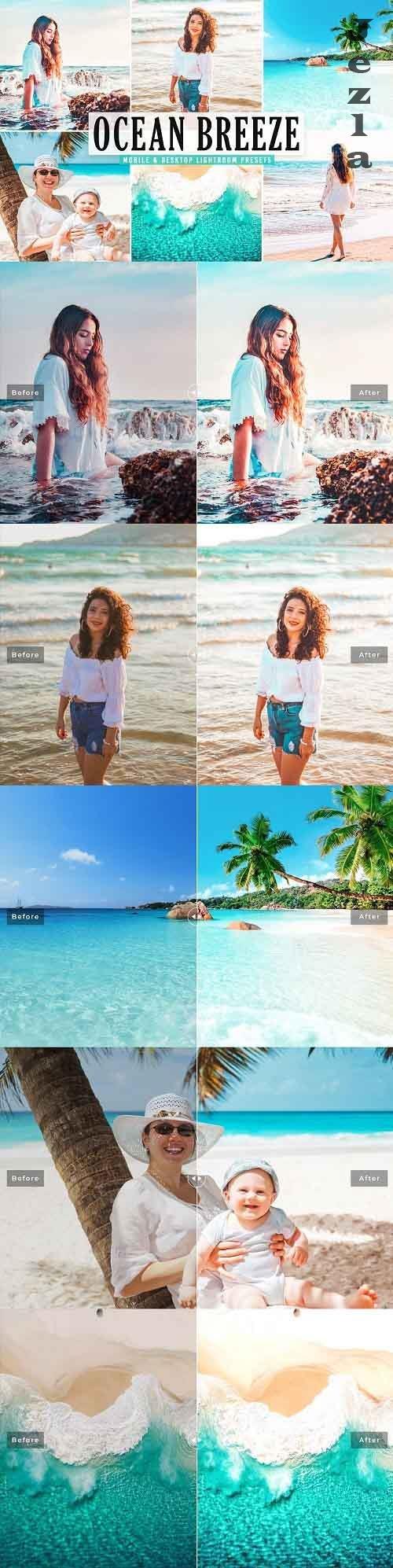 Ocean Breeze Pro Lightroom Presets - 5478853 - Mobile & Desktop