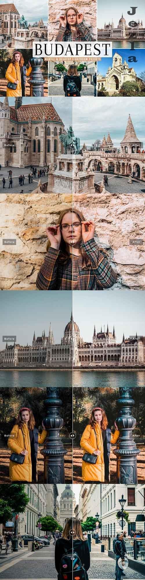 Budapest Pro Lightroom Presets - 5479029 - Mobile & Desktop