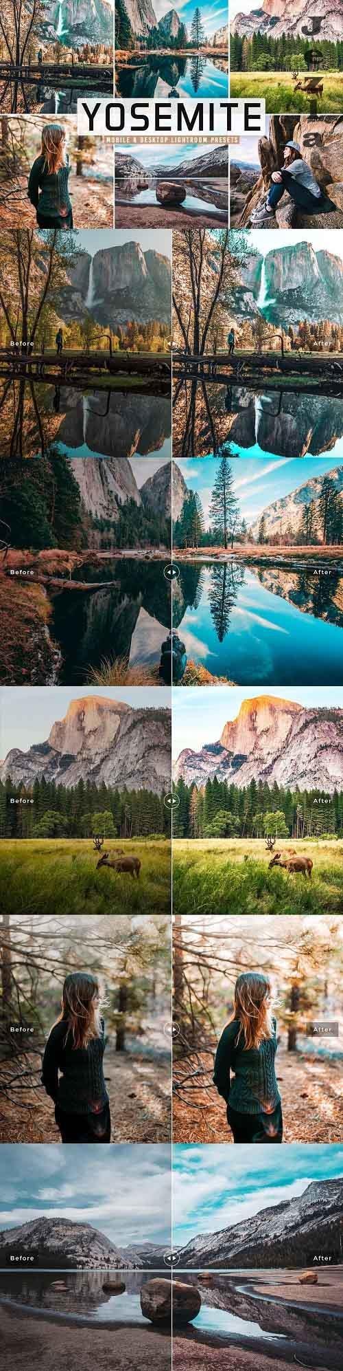 Yosemite Pro Lightroom Presets - 5479344 - Mobile & Desktop