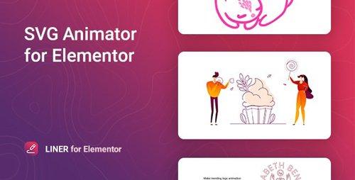 CodeCanyon - Liner v1.0.0 - SVG Animation for Elementor - 28794989