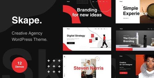 ThemeForest - Skape v1.0.0 - Creative & Modern Agency WordPress Theme - 28430373