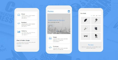 ThemeForest - Purasa v1.0 - Responsive Mobile Template - 19728012