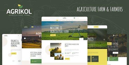 ThemeForest - Agrikol v1.0 - HTML Template For Agriculture Farm & Farmers - 27742700